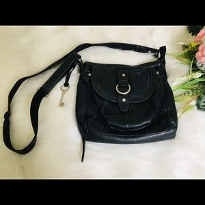 Fossil Leather Crossbody Multiple Pocket Bags